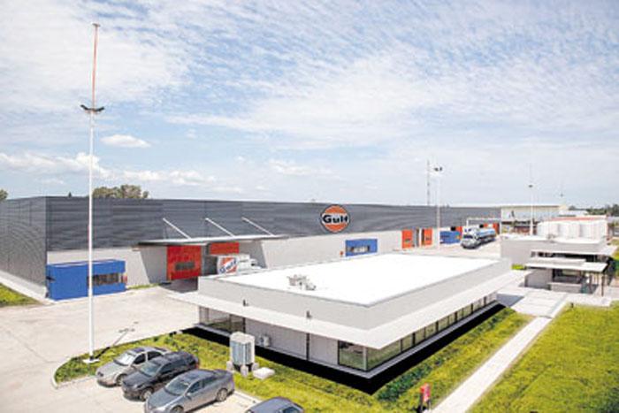 La nueva planta de Gulf está en el partido de Moreno, a sólo 50 metros del Acceso Oeste.