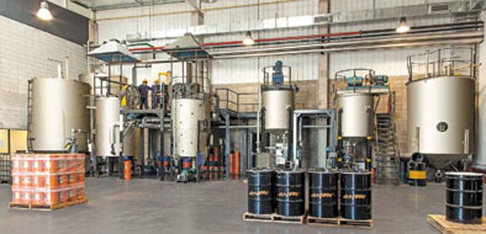 El sector de blending está automatizado y forma parte de la línea de montaje de la nueva planta.
