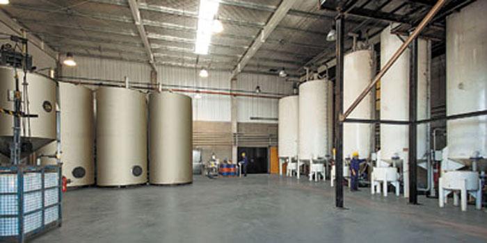 Sector de producción de grasas.