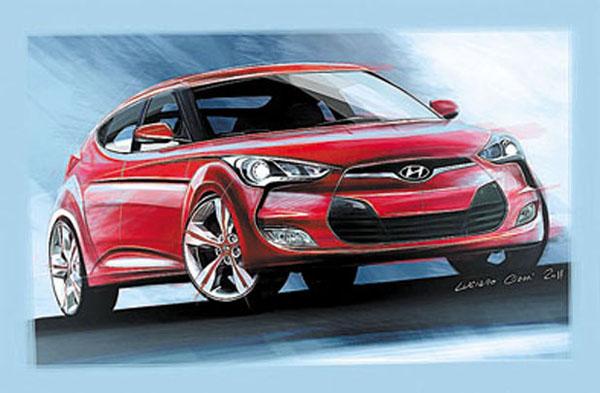 Su diseño está planteado respetando el formato de una típica coupé hatchback.