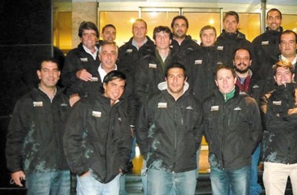 El equipo de Ventas de Wakefield acompañó el Rally de Argentina 2012.
