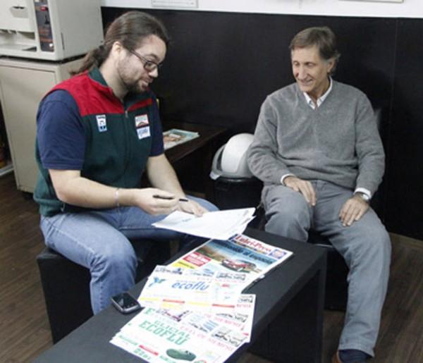 Hache San Jorge y Bartolomé D'Atri, socios estratégicos para la comercialización de Glicial Ecoflú.