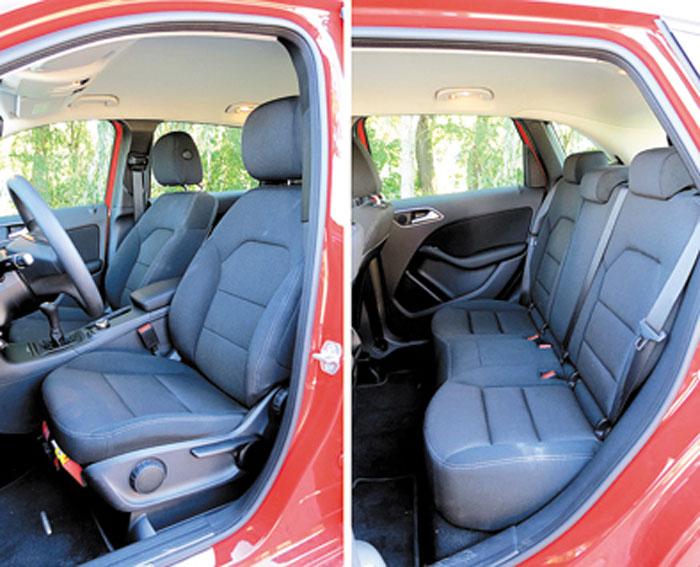 Techo alto y posición de manejo más parecida a la de un auto. Ya no es tan minivan, como el anterior Clase B.