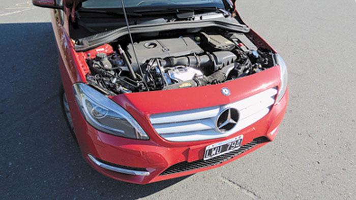 Motor elástico, rendidor y muy silencioso. Una de las grandes virtudes del nuevo Clase B.
