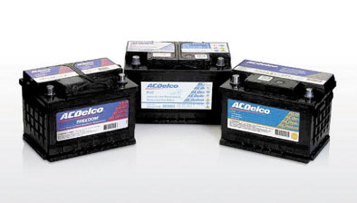 Las nuevas baterías ACDelco tienen una mayor vida útil.