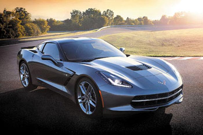 El C7 es el primer Corvette en hacer uso intensivo de la fibra de carbono.