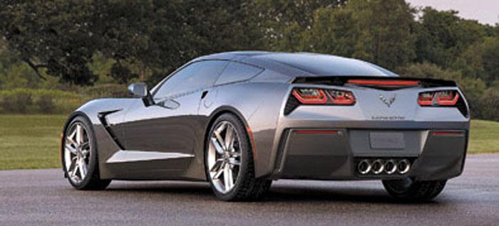 Más Transformer que nunca, el Corvette parece nacido para ser estrella de cine.