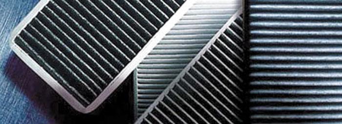 Los filtros de habitáculo garantizan un aire puro para los ocupantes, aún en caso de polución o presencia de polen.
