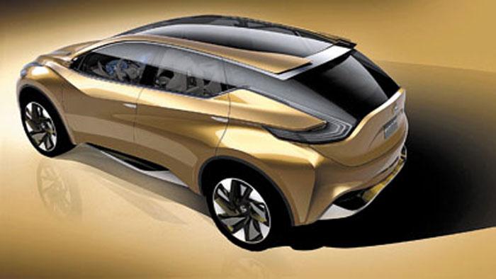 El concept Resonance anticipa las líneas de la próxima Murano y la nueva escuela estilística de Nissan.