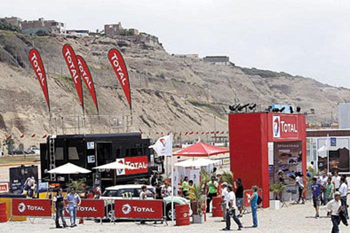 La marca tuvo presencia en cada etapa disputada en Perú, Argentina y Chile.