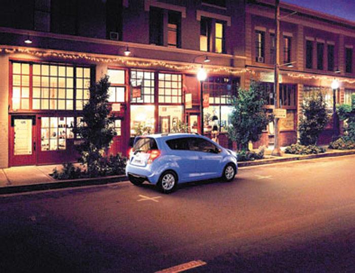 El Chevrolet más pequeño es un auto netamente urbano, aunque con buenas prestaciones.