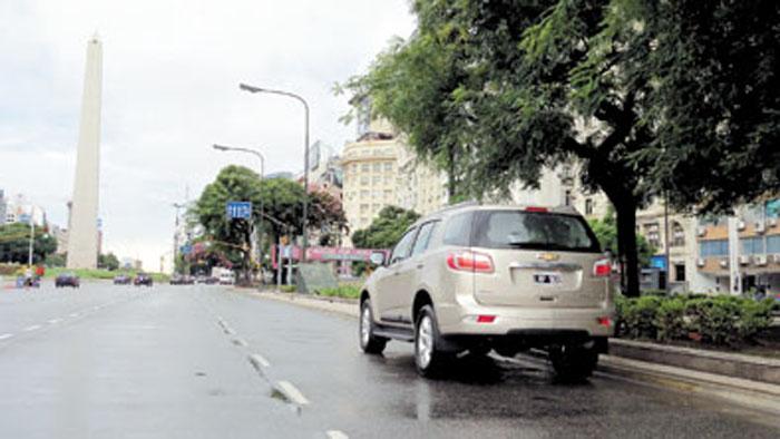 Las SUV derivadas de pick-ups se ven mucho en ciudad, pero no es el lugar donde se sienta más cómoda la Trailblazer.