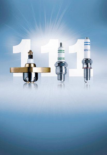 En más de un siglo se fabricaron 11 mil millones de bujías Bosch.