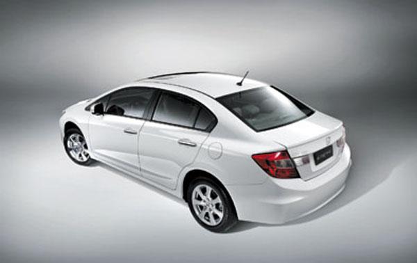 El Civic 2013 no recibió cambios estéticos. Otra novedad es la nueva llave tipo navaja.