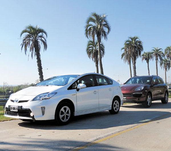 Ya hay 270 autos híbridos circulando en la Argentina.