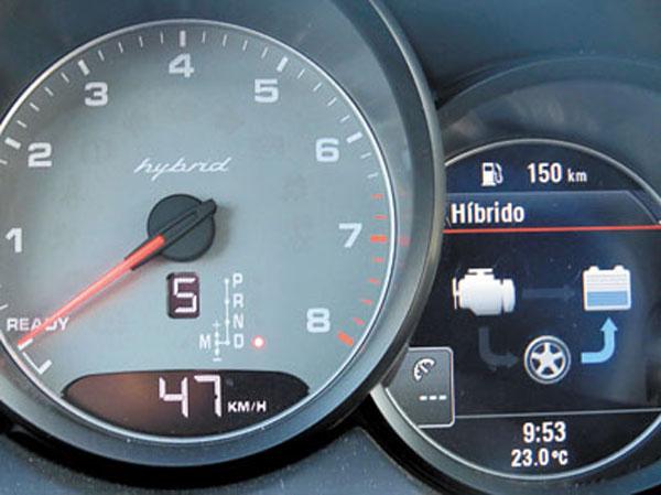 En todo momento, indicadores informan qué energía se está usando.