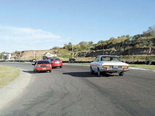 Una tarde GT, en el parque de diversiones de Baradero.