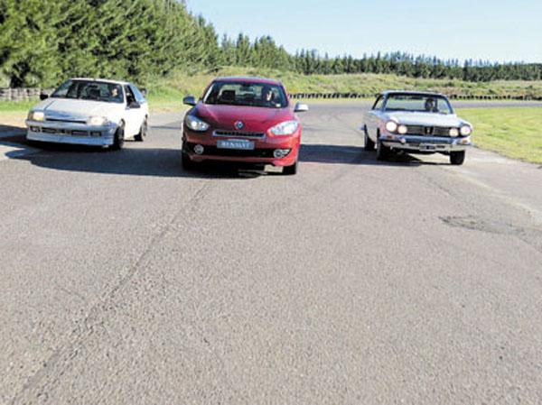 Tres generaciones de GT, con el sello de Santa Isabel.
