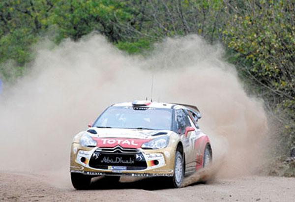 Loeb se aleja del equipo de Citroën de rally, pero seguirá junto a Total.
