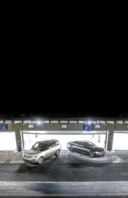 Land Rover y Jaguar alquilaron durante una semana el circuito de Interlagos para poner a prueba sus nuevos productos. Lubri-Press estuvo ahí.