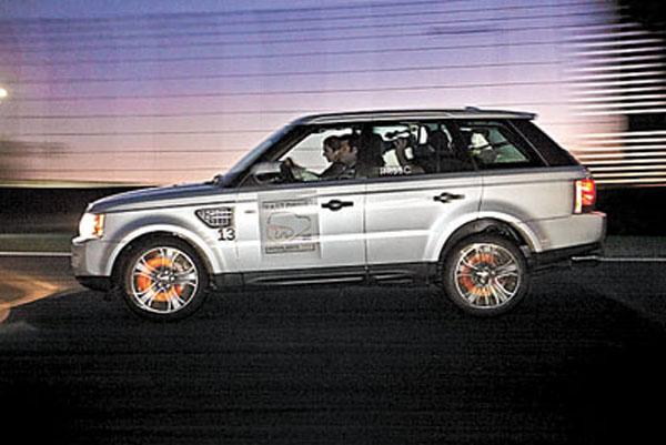 Interlagos despidió a la Range Rover Sport.
