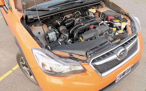 El motor 2.0 Bóxer es de nueva generación.