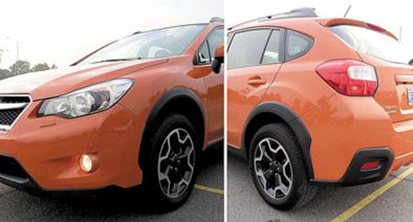 El New XV está basado en el Impreza de cuarta generación.