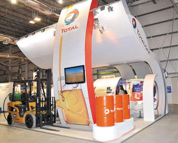 Total exhibió la línea más completa de lubricantes en la feria industrial realizada en Tecnópolis.