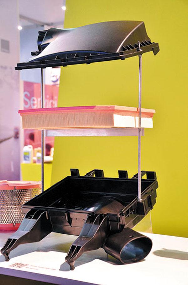 Así son los filtros de aire que se fabricarán en Córdoba para los Fiat Palio y Siena.