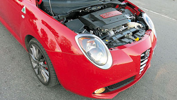 El motor 1.4 MultiAir tiene turbo, intercooler y 170 caballos de potencia.