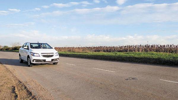 Aunque también es agradable para manejar en ruta a velocidades moderadas.