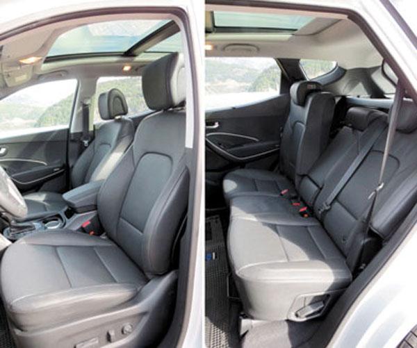 Todas las versiones 4×4 tienen tapizado en cuero y butaca del conductor de ajuste eléctrico. La butaca trasera es corrediza y tiene respaldos reclinables.