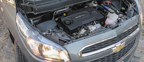 El motor Ecotec es la estrella de la Spin. Sólo diesel premium.