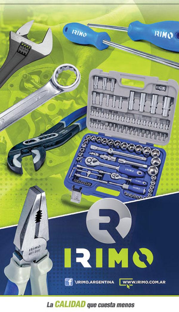 La línea de herramientas Irimo se produce en Santa Fe. Algunos productos se importan de Europa.