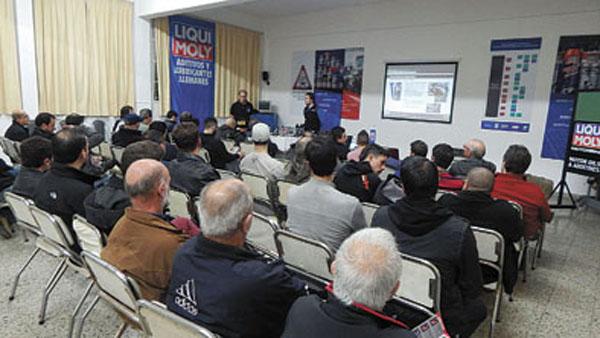La línea Liqui Moly Motorbike se presentó el mes pasado en APTA Zona Norte.