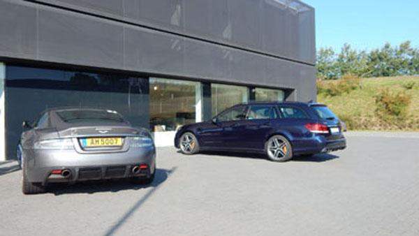 Descubrimos a James Bond en Nürburgring.