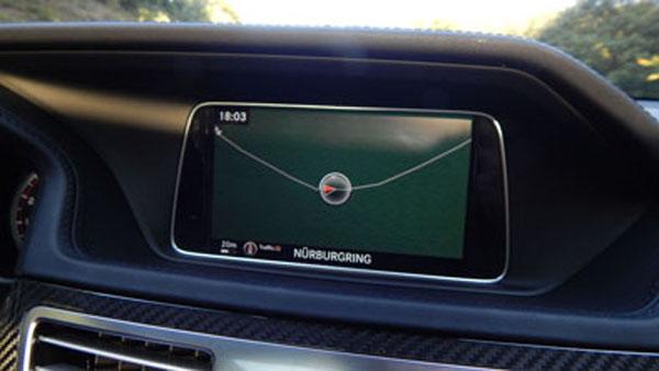El trazado figura hasta en los GPS.