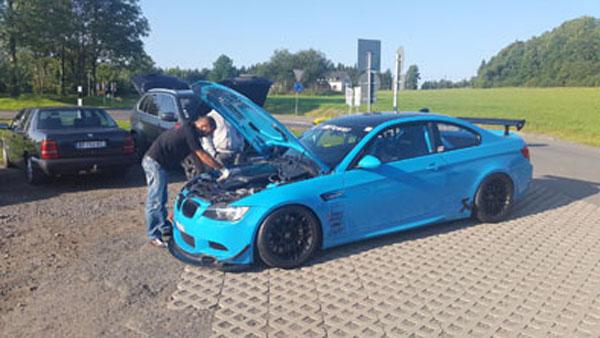 BMW M3 perreado, la moda de este verano en Nürburgring.