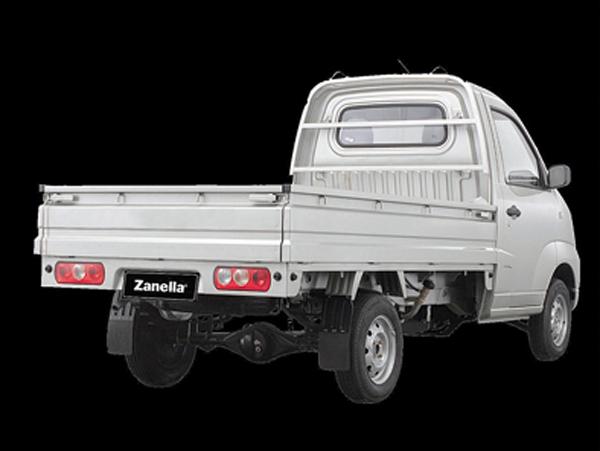 El Z-Truck tiene una caja de carga de 2,6 metros de largo.