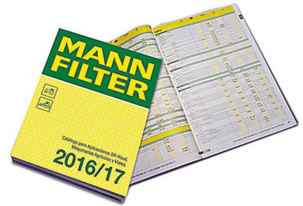 El nuevo Catálogo IF 2016/17 con todas las aplicaciones para filtros del área industrial, vial y agrícola.