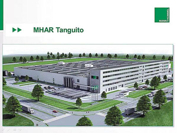Proyecto Tanguito: así será la nueva planta de Mann+Hummel Argentina en Ezeiza.