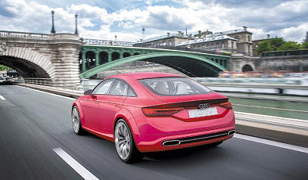 De llegar a la producción, se sumaría a los otros Sportback de Audi: A5 y A7.