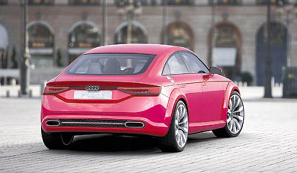 """El remate posterior se resolvió con una estética similar a la de otros Audi """"coupé de cuatro puertas""""."""