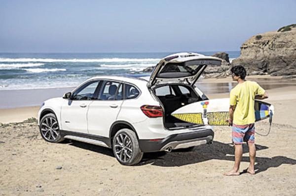 La nueva X1 creció en dimensiones, pero sigue siendo la SUV de tamaño más contenido de BMW.