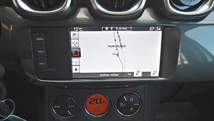 El GPS sólo está disponible en la variante Shine.