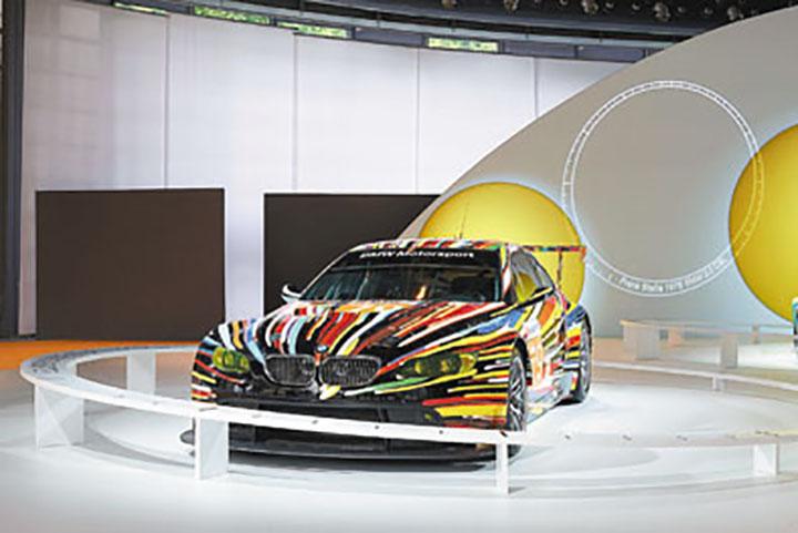 El BMW M3 GT2 creado por Jeff Koons.