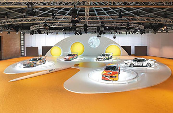 Para celebrar los 40 años de una gran idea, BMW exhibe sus Art Cars en Munich.