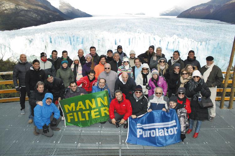 Encuentro de más de 20 distribuidores de Mann de América Latina.