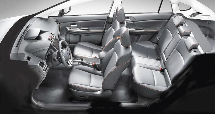 El Subaru XV estrena nuevo diseño de tapizados.
