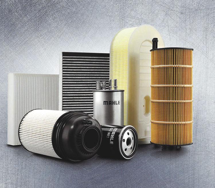 Un filtro Mahle Original de reposición es de la misma calidad que se encuentra en un Porsche o Mercedes-Benz.